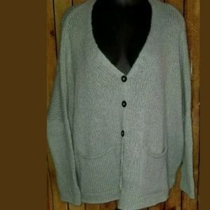 Wooden ships sweater size small green